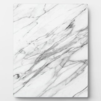 Carrara Marble Plaque