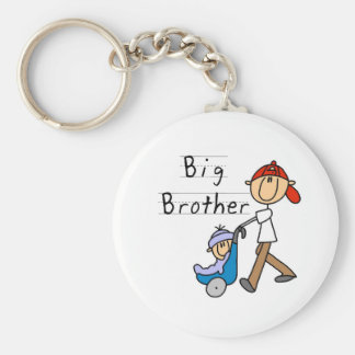 Carriage Big Brother Tshirts and Gifts Basic Round Button Key Ring