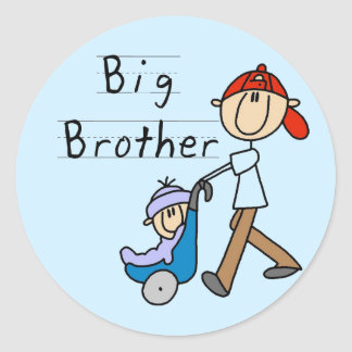 Carriage Big Brother Tshirts and Gifts Classic Round Sticker