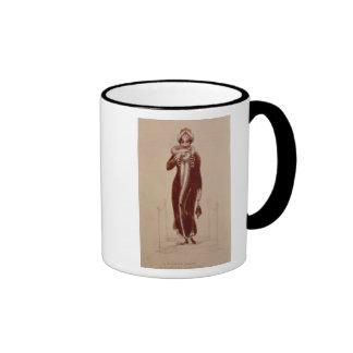 Carriage costume, Ackermann print, 1811 Coffee Mug