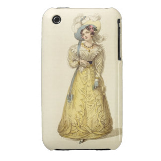 Carriage Costume, fashion plate from Ackermann's R iPhone 3 Covers