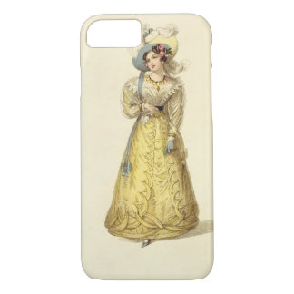 Carriage Costume, fashion plate from Ackermann's R iPhone 8/7 Case