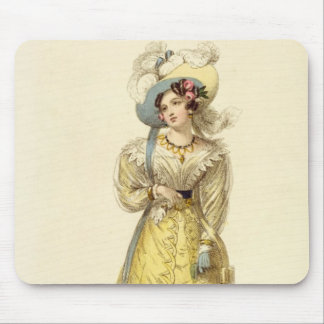 Carriage Costume, fashion plate from Ackermann's R Mouse Pad