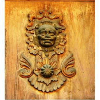 Carriage door, Antigua, Guatemala Photo Sculpture Decoration