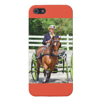 carriage driving horse show iPhone 5 cases