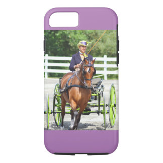 carriage driving iPhone 7 case