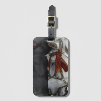 Carriage Horse Luggage Tag