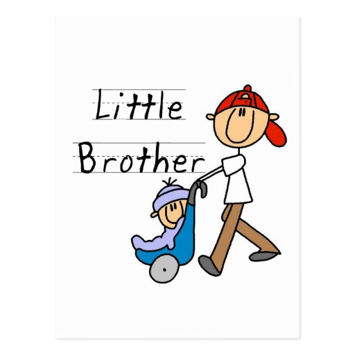 Carriage Little Brother Tshirts and Gifts Post Cards