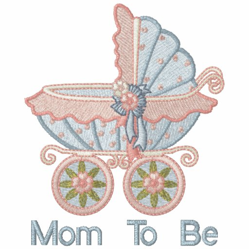 Carriage Mom To Be - Blue