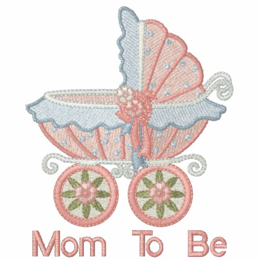 Carriage Mom To Be - Pink