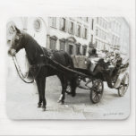 Carriage Ride in Florence Italy Mousepad