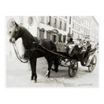 Carriage Ride in Florence Italy Post Card
