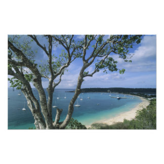 Carribean, Anguilla Island, Road Bay Harbour. Photo Print