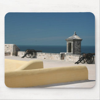 Carribean Fort Mouse Pad