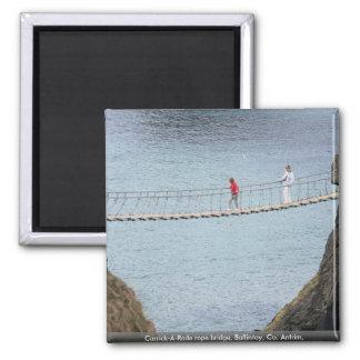 Carrick-A-Rede rope bridge, Ballintoy, Co. Antrim, Refrigerator Magnets