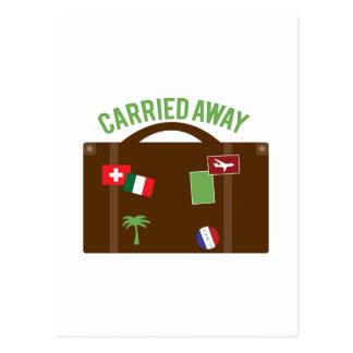 Carried Away Postcard