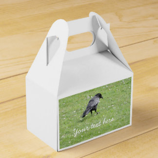 Carrion Crow Wedding Favor Boxes