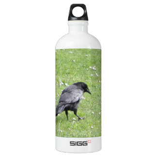 Carrion Crow In Grass SIGG Traveller 1.0L Water Bottle