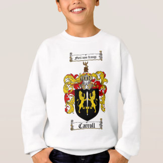 CARROLL FAMILY CREST -  CARROLL COAT OF ARMS SWEATSHIRT