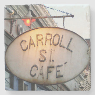 Carroll St. Cafe, Cabbagetown, Atlanta Coasters Stone Coaster