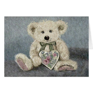 Carroll Teddy Bear Card