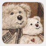 Carroll Teddy Bear Stickers