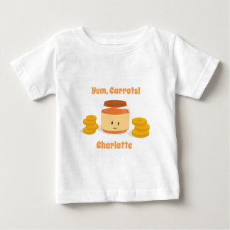 Carrot Baby Food Character | Baby T-shirt