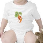 carrot bodysuit