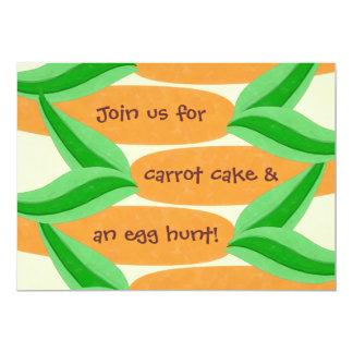 Carrot Cake and an Egg Hunt Easter Invitation
