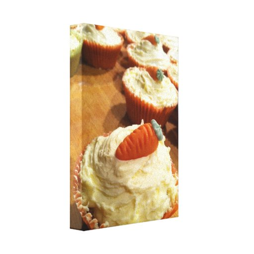 Carrot Cake Canvas Gallery Wrapped Canvas