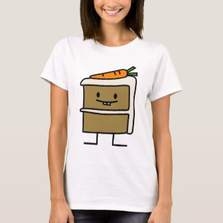 Carrot Cake cute carrots happy food design T-Shirt