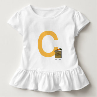 Carrot Cake Slice bunny teeth icing dessert Toddler T-Shirt