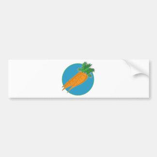 Carrot Graphic Bumper Sticker