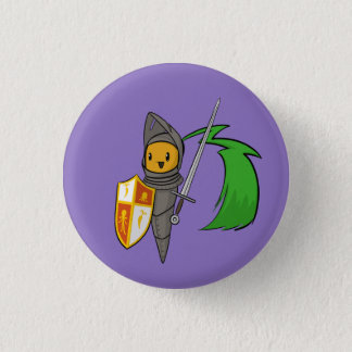 Carrot Knight 3 Cm Round Badge
