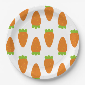 Carrot Pattern Plates