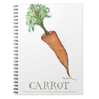 carrot, tony fernandes notebooks