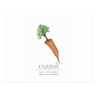 carrot, tony fernandes postcard