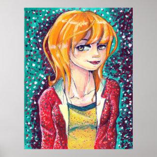 Carrot Top Canvas Print Print