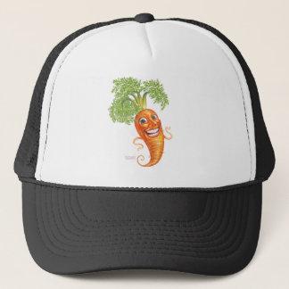 carrot trucker hat