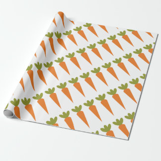Carrot Wrapping Paper