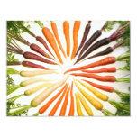 Carrots 11 Cm X 14 Cm Invitation Card