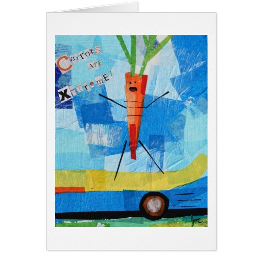 Carrots are X-treme Card
