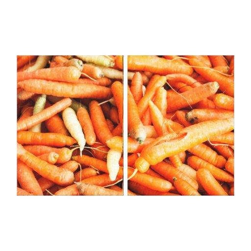Carrots Gallery Wrap Canvas