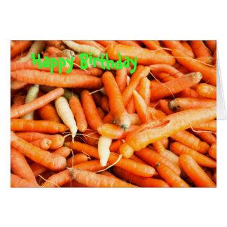 Carrots Card