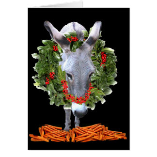 CARROTS FOR CHRISTMAS CARD