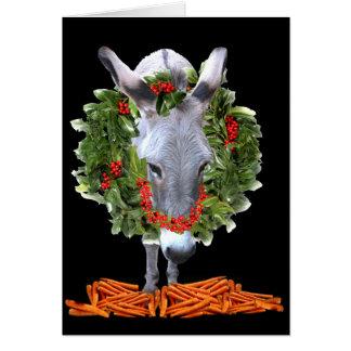 CARROTS FOR CHRISTMAS CARD