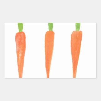 Carrots Rectangular Sticker