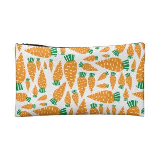 Carrots Vegan Veggie Lover Food png Makeup Bag