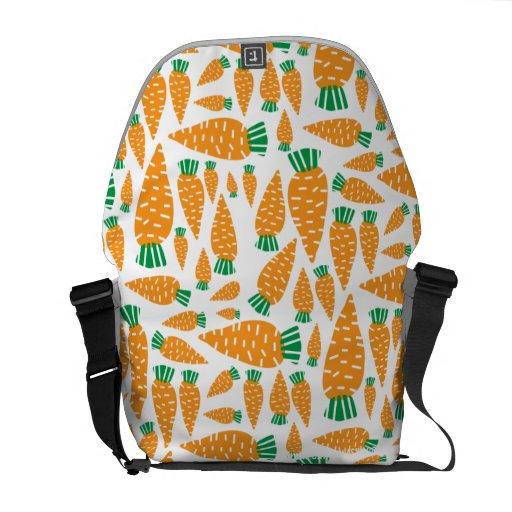 Carrots Vegan Veggie Lover Food.png Courier Bags