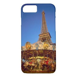 Carrousel, Eiffel Tower, Paris, France iPhone 8/7 Case